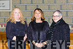 Mary Deniel Farranfore, Mairead Moriarty Tralee and Bernie Costello Killorglin who performed in Handels Messiah with the Kerry Chamber Choir and Orchestra in the Franciscan Friary Killarney on Sunday night