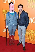 07 April 2019 - New York, New York - Hugh Jackman at the New York Premiere of &quot;MISSING LINK&quot;, held at Regal Cinemas Battery Park II.<br /> CAP/ADM/LJ<br /> &copy;LJ/ADM/Capital Pictures