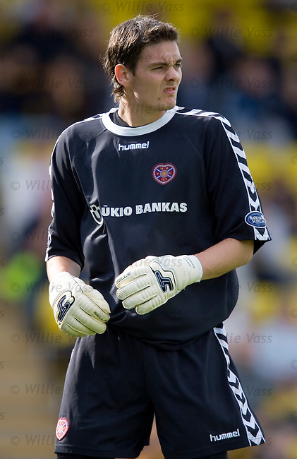 Craig Gordon, Hearts.stock season 2005-2006.pic willie vass
