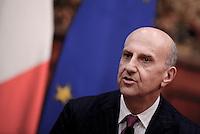 Roma, 27 Febbraio 2017.<br /> Alessandro Pansa direttore del Dipartimento delle informazioni per la sicurezza (DIS)<br /> Presentazione della Relazione annuale sulla politica dell'informazione per la sicurezza.