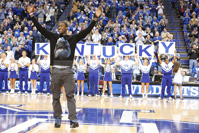 Michael Kidd-Gilchrist is greeted during the second half of the UK Men's basketball game vs. Eastern Michigan at Rupp Arena in Lexington, Ky., on Wednesday, January 2, 2013. UK won 90-38. Photo by Tessa Lighty | Staff
