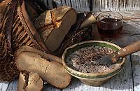 Europe/France/Aquitaine/40/Landes/Parc Naturel Régional des Landes de Gascogne/Marquèze (écomusée de la Grande Lande): Pâte de foie de porc au vin rouge et à l'oignon