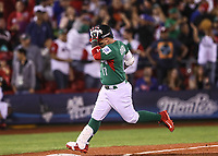 Cuadrangular de Esteban Quiroz de Mexico en la segunda entrada alta, durante el partido Mexico vs Venezuela, World Baseball Classic en estadio Charros de Jalisco en Guadalajara, Mexico. Marzo 12, 2017. (Photo: AP/Luis Gutierrez)