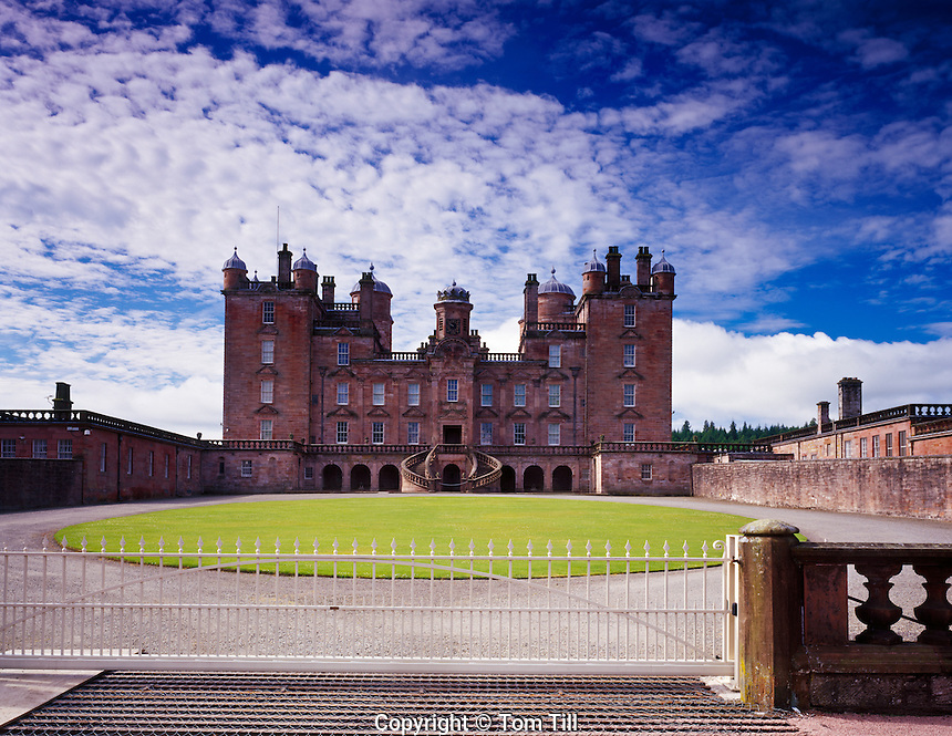 Drumlanrig Castle, Scotland, United Kingdom