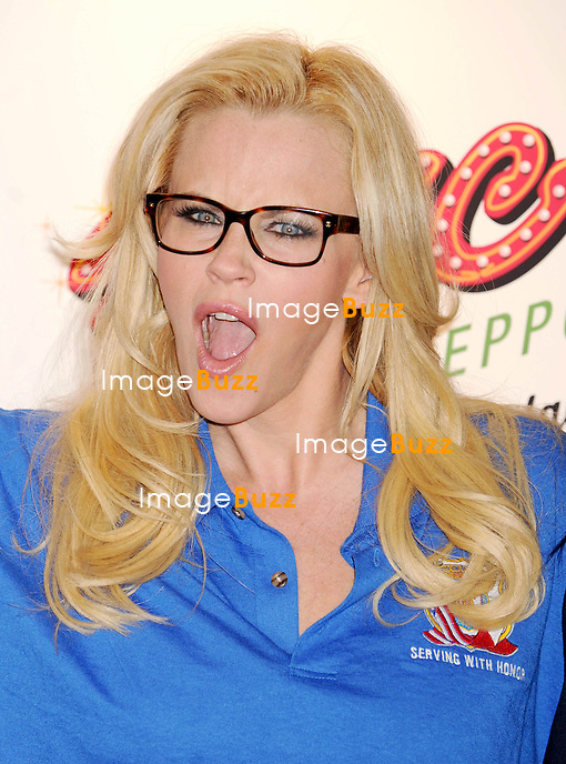 Jenny McCarthy at 2013 National Ravioli Day Pasta Eating Contest..in New York City. New York, March 20, 2013.