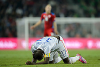 PRAGUE, Czech Republic - September 3, 2014: USA's Jozy Altidore during the international friendly match between the Czech Republic and the USA at Generali Arena.