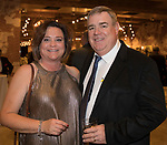 Bernadette and Tom Howell during the Step 2 Jingle & Mingle held at the Whitney Peak Hotel on Friday night, December 1, 2017.