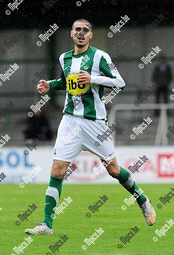 2011-10-09 / Voetbal / seizoen 2011-2012 / Racing Mechelen / Ibrahim Maaroufi..Foto: Mpics