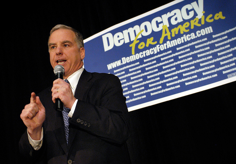Fmr. Governor Howard Dean gave a rally speech at the Capitol City Brewery for his supporters shortly before the election of the DNC chairmanship. Many believe that Dean will be the liekly winner of the chairmanship, as many of the his rivals have dropped out.
