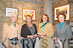Exhibition Opening : Pictured at the opening of an exhibition  of paintaings by Ghislaine Giustiniani at St. John's Arts Theatre, Listowel on Saturday nigh last  were, Joan Walsh, Ghislaine Giustiniani, Anne Dillon & Betty Walsh.