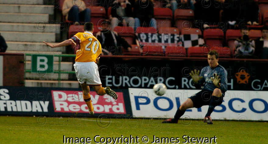 26/12/2006       Copyright Pic: James Stewart.File Name : sct_jspa01_dunfermline_v_motherwell.MARK FITZPATRICK SCORES MOTHERWELL'S FIRST....James Stewart Photo Agency 19 Carronlea Drive, Falkirk. FK2 8DN      Vat Reg No. 607 6932 25.Office     : +44 (0)1324 570906     .Mobile   : +44 (0)7721 416997.Fax         : +44 (0)1324 570906.E-mail  :  jim@jspa.co.uk.If you require further information then contact Jim Stewart on any of the numbers above.........