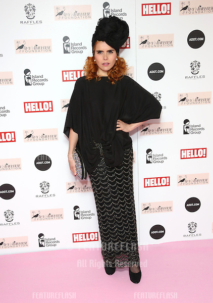 Paloma Faith arriving at the The Amy Winehouse foundation ball held at the Dorchester hotel, London. 20/11/2012 Picture by: Henry Harris / Featureflash