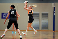 12.12.2018 Silver Ferns Laura Langman training in Auckland. Mandatory Photo Credit ©Michael Bradley.