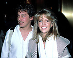 Heather Locklear with her brother Checking into the Hilton Hotel in<br /> New York City. February 1985