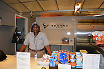 As part of the H.E.A.R.T. partnership with HISD, 17 high school students with disabilities are working and learning on the job at the Houston Food Bank. H.E.A.R.T. Training Vocational Specialist Mary Johnson runs the Texans Cafe with help from students.