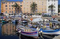 France/Corse/Corse-du-Sud/2A/Ajaccio: Bateaux au port