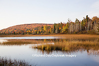 64776-01501 Pond and fall color Alger County Upper Peninsula Michigan