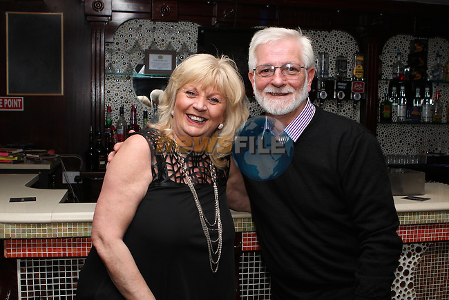 Jim and Bernie Launders celebrating their 30th Anniversary in the Trinity Arms...(Photo credit should read Jenny Matthews/NEWSFILE)...