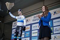 Race winner: European U23 Champion Eli Iserbyt (BEL/Marlux-Napoleon Games) <br /> <br /> U23 race<br /> Flandriencross Hamme / Belgium 2017