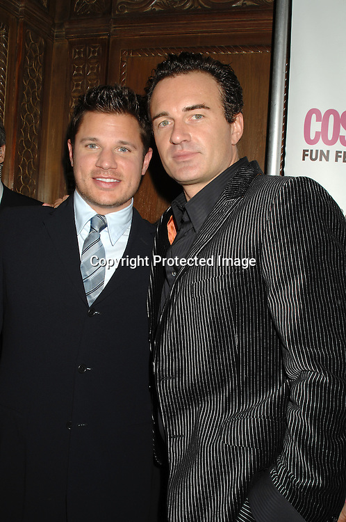 Nick Lachey and Julian McMahon ..at The Cosmopolitan Fun Fearless Male of the Year Award Luncheon on January 22, 2007 at Ciprianis 42nd Street. All of the men were honored...Robin Platzer, Twin Images