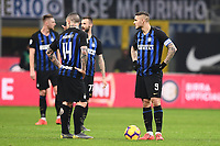 Radja Nainggolan, Mauro Icardi of Internazionale Dejection <br /> Milano 03-02-2019 Stadio San Siro Football Serie A 2018/2019 Inter - Bologna    <br /> Foto Image Sport / Insidefoto