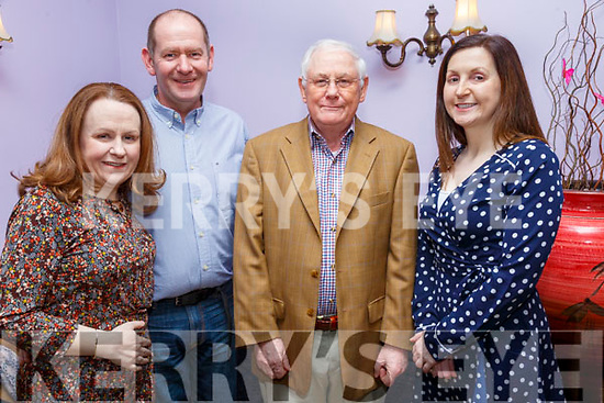 Guess The Chef: Pictured at the Guess the Chef event at Kilcooley's Country House Hotel iin aid of the Kerry Hospice Foundation on Friday nigh last were Sinead Nash, Brian O'Ma;lley & John & Sorcha Nash.