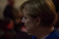 Bundeskanzlerin Angela Merkel haelt traditionelle Oberlin Rede.<br /> Jedes Jahr bitten das Oberlinhaus und die Oberlin Stiftung bekannte Persoenlichkeiten aus Politik und Gesellschaft eine Rede zu halten, die in Zusammenhang mit den diakonischen Werten des Unternehmens steht. Im 500. Jahr seit des Beginns der Reformation sprach Bundeskanzlerin Angela Merkel zu rund 150 geladenen Gaesten.<br /> Im Bild: <br /> 8.11.2017, Potsdam<br /> Copyright: Christian-Ditsch.de<br /> [Inhaltsveraendernde Manipulation des Fotos nur nach ausdruecklicher Genehmigung des Fotografen. Vereinbarungen ueber Abtretung von Persoenlichkeitsrechten/Model Release der abgebildeten Person/Personen liegen nicht vor. NO MODEL RELEASE! Nur fuer Redaktionelle Zwecke. Don't publish without copyright Christian-Ditsch.de, Veroeffentlichung nur mit Fotografennennung, sowie gegen Honorar, MwSt. und Beleg. Konto: I N G - D i B a, IBAN DE58500105175400192269, BIC INGDDEFFXXX, Kontakt: post@christian-ditsch.de<br /> Bei der Bearbeitung der Dateiinformationen darf die Urheberkennzeichnung in den EXIF- und  IPTC-Daten nicht entfernt werden, diese sind in digitalen Medien nach §95c UrhG rechtlich geschuetzt. Der Urhebervermerk wird gemaess §13 UrhG verlangt.]