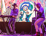 May 19, 2018. Durham, North Carolina.<br /> <br /> Psychic TV plays Fletcher Hall at the Carolina Theatre. <br /> <br /> Moogfest 2018 showcases 4 days of music, art and technology spread out amongst venues in and around downtown Durham.