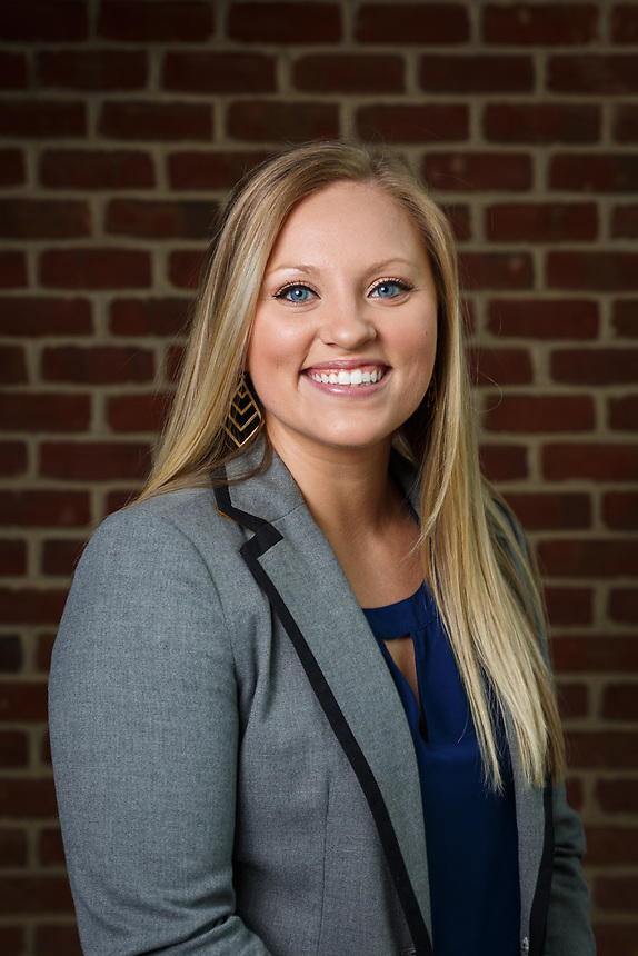 Hailey Bennett of Resident Admissionsis photographed for headshot day on May 23, 2017. (Photo by Caroline Cummings)