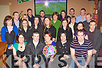 Joanne Gallagher Castleisland seated centre celebrates her 30th birthday in Tom McCarthy's bar Castleisland on Saturday