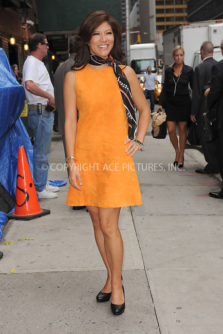 WWW.ACEPIXS.COM . . . . . .September 5, 2012...New York City....Julie Chen tapes an appearance on the Late Show with David Letterman on September 5, 2012  in New York City ....Please byline: KRISTIN CALLAHAN - ACEPIXS.COM.. . . . . . ..Ace Pictures, Inc: ..tel: (212) 243 8787 or (646) 769 0430..e-mail: info@acepixs.com..web: http://www.acepixs.com .
