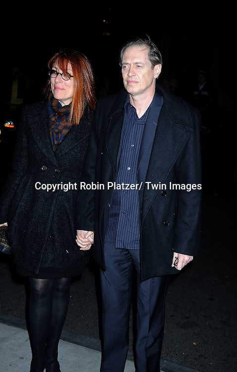 Steve Buscemi and wife Jo Howard at the Gotham Independent Film Awards on November 29, 2010 at Cipriani Wall Street in New York City.
