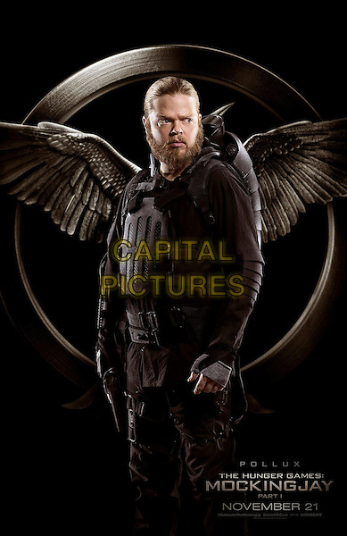 POSTER ART with Elden Henson as Pollux<br /> in The Hunger Games - Mockingjay - Part 1 (2014) <br /> *Filmstill - Editorial Use Only*<br /> CAP/NFS<br /> Image supplied by Capital Pictures