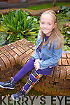 Chloe O'Sullivan from Farranfore, who has spina bifida lives life with no limits and is currently writing her second book.