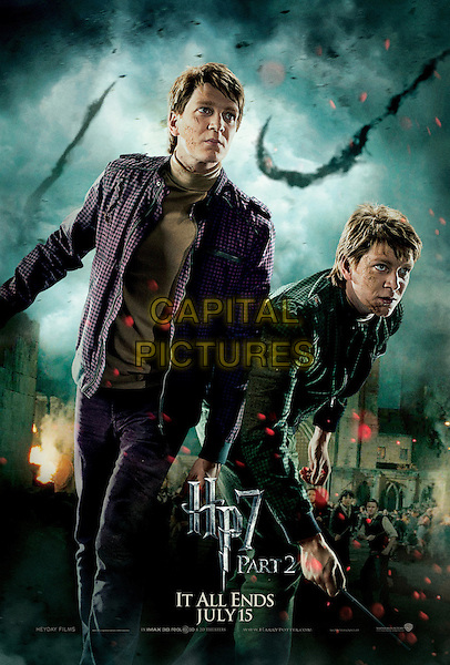 ACTION TWINS POSTER ART.in Harry Potter and the Deathly Hallows: Part 2 .*Filmstill - Editorial Use Only*.CAP/FB.Supplied by Capital Pictures.