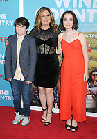 "Ana Gasteyer and children at the World Premiere of ""WINE COUNTRY"" at the Paris Theater in New York, New York , USA, 08 May 2019"
