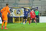 Waldhofs Ali Ibrahimaj (Nr.7) gegen Kaiserslauterns Fabian Scheffer im Spiel SV Waldhof Mannheim - 1. FC Kaiserslautern II.<br /> <br /> Foto © P-I-X.org *** Foto ist honorarpflichtig! *** Auf Anfrage in hoeherer Qualitaet/Aufloesung. Belegexemplar erbeten. Veroeffentlichung ausschliesslich fuer journalistisch-publizistische Zwecke. For editorial use only.