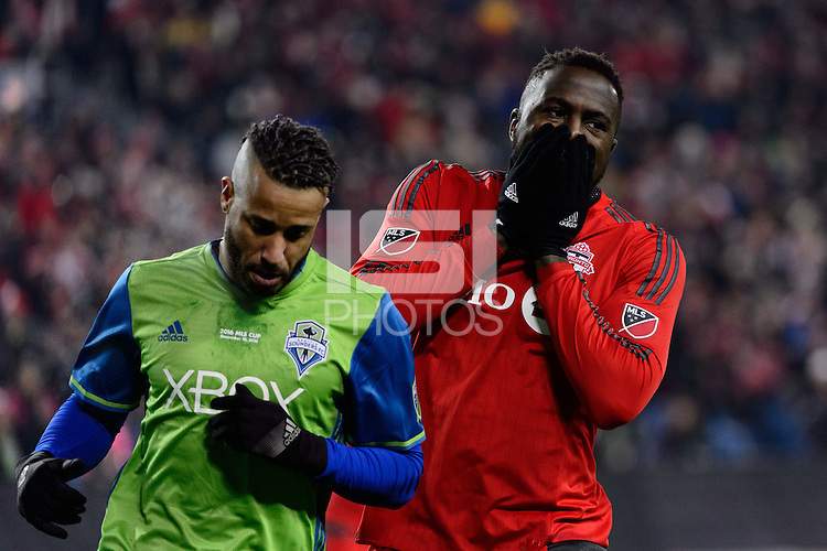Toronto, ON, Canada - Saturday Dec. 10, 2016: Jozy Altidore during the MLS Cup finals at BMO Field.