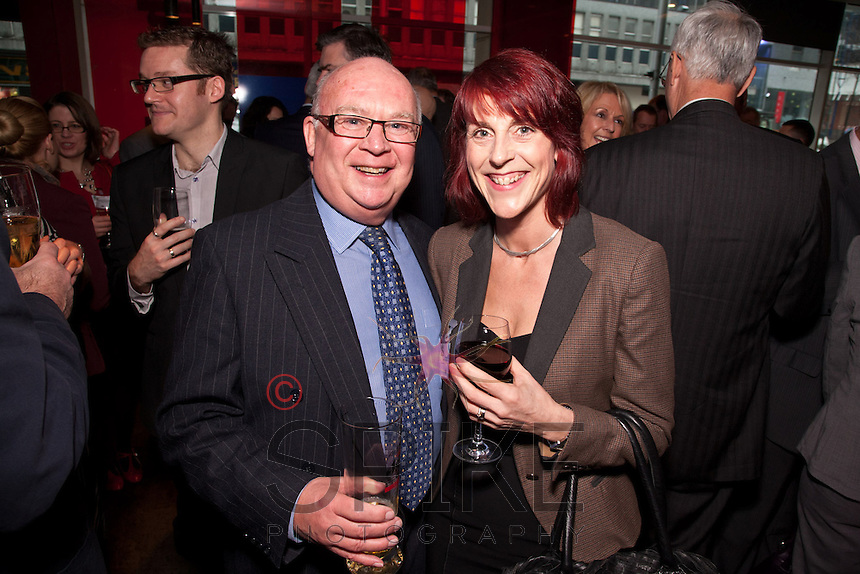 Ron Glen and Carolyn Collinson of MWB Business Exchange