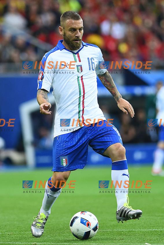 Daniele De Rossi Italy <br /> Lyon 13-06-2016 Stade de Lyon Footballl Euro2016 Belgium - Italy / Belgio - Italia Group Stage Group D. Foto Massimo Insabato  / Insidefoto