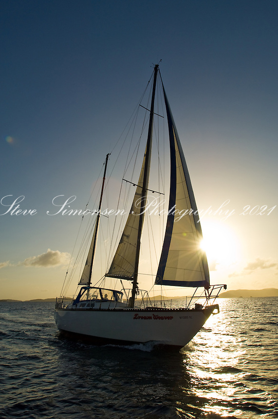 "Sailing vessel ""Dream Weaver"""