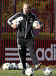Nederland, Amsterdam, 19 oktober  2012.Seizoen 2012-2013.Training Ajax.Dennis Bergkamp assistent trainer bij Ajax