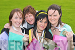 0117-0131.DELIGHT: The Glenflesk over 15 project team celebrate winning the All Ireland Community Games in Mosney on Saturday 12th May. L-r: Tracey Kelly, Irene ODonoghue, Mary Moynihan and Marian Moynihan..