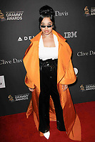 BEVERLY HILLS, CA- FEBRUARY 09: Ella Mai at the Clive Davis Pre-Grammy Gala and Salute to Industry Icons held at The Beverly Hilton on February 9, 2019 in Beverly Hills, California.      <br /> CAP/MPI/IS<br /> &copy;IS/MPI/Capital Pictures