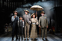 London, UK. 14.10.2016. Danielle Tarento, Steven M Levy, Sean Sweeney and Vaughan Williams present RAGTIME, at the Charing Cross Theatre. Directed by Thom Southerland, with lighting design by Howard Hudson. Picture shows:  Jonathan Stewart (Younger Brother), Samuel Peterson (Little Boy), Earl Carpenter (Father), Anita Louise Combe (Mother), Anthony Cable (Grandfather). Photograph © Jane Hobson.