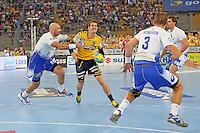 Andy Schmid (Löwen) setzt sich durch - Tag des Handball, Rhein-Neckar Löwen vs. Hamburger SV, Commerzbank Arena