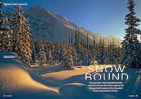 PRODUCT: Magazine (text & photos)<br /> TITLE: Snowbound<br /> CLIENT: Reiman Publications