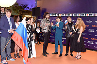 Dmitry Guberniev, Ekaterina Orlova, Philip Kirkorov, Sergey Lazarev (Russia)<br /> Eurovision Song Contest, Opening Ceremony, Tel Aviv, Israel - 12 May 2019.<br /> **Not for sales in Russia or FSU**<br /> CAP/PER/EN<br /> &copy;EN/PER/CapitalPictures