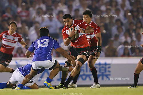 Hendrik Tui (JPN), <br /> MAY 30, 2014 - Rugby : <br /> Rugby test match <br /> between Japan 33-14 Samoa <br /> at Prince Chichibu Memorial Stadium in Tokyo, Japan. <br /> (Photo by YUTAKA/AFLO SPORT) [1040]