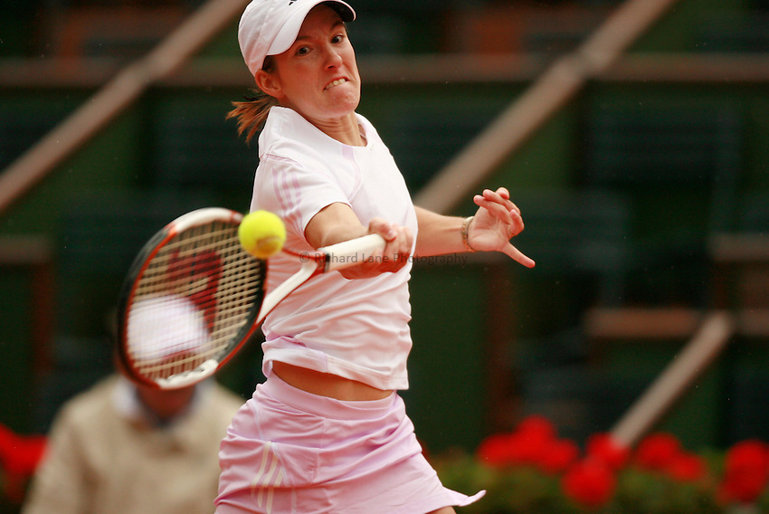 Photo: Iconsport/Richard Lane Photography..Roland Garros 2006..01/06/2006. .Justine Henin Hardenne.